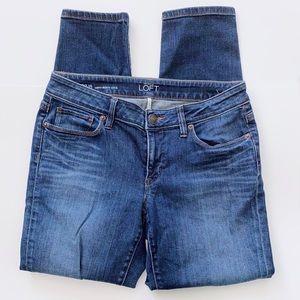 Loft Curvy Skinny Ankle Jean